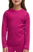 Icebreaker Kids Oasis LS Crewe Raspberry/Shocking